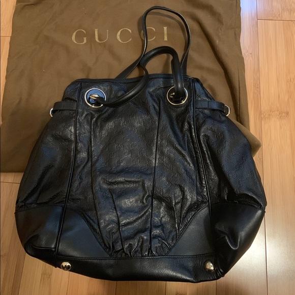 6e978cbf880 Gucci Handbags - Gucci Guccissima full moon tote bag